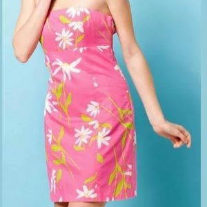 Lilly Pulitzer Franco Dress Hotty Pink Twirlers